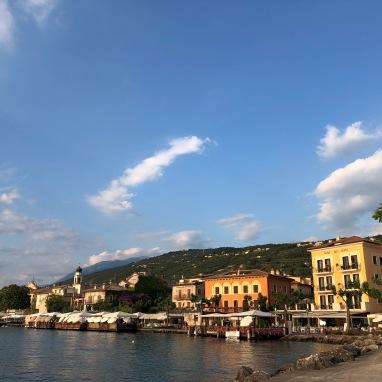 Lovely town of Torri del Benaco